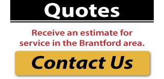 Quotes: Receive an estimate for service in the Brantford area.